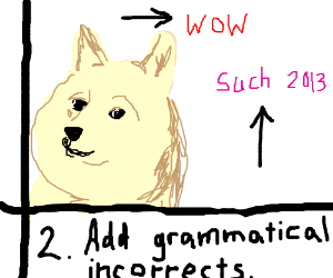 Instructon Of How To Draw Doge Step 2 Drawing By Annakarin