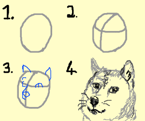 How To Draw Doge Drawing By Mark2market Drawception