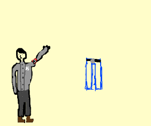 Hitler salutes pair of jeans