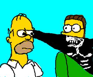 Homer X-Ray attack