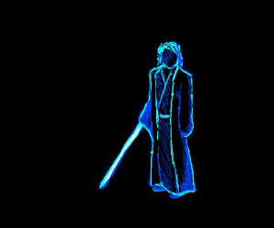 Neon Anakin Skywalker
