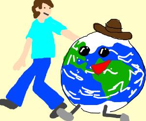 Earth is mah homeboy