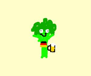 Drunk german broccoli