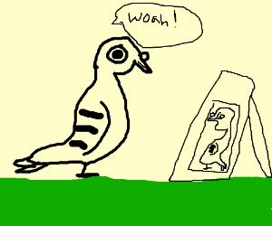 Easily Impressed Pigeon