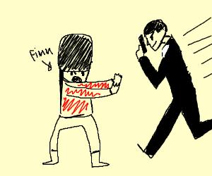 Russian Finn stops James Bond