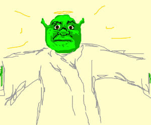 Shrek died for your sins.
