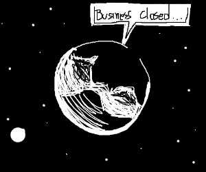 Drawception Inception means Earth closing down