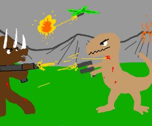 A dubious theory of dinosaur extinction...