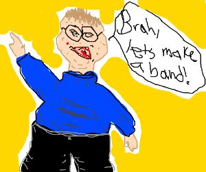 A fat-ass band nerd