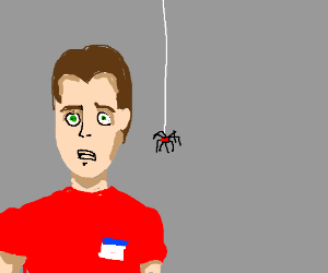 Peter Parker is about to become Spider-Man