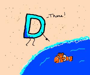 Drawception D finds Nemo