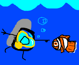 Drawception has found Nemo!