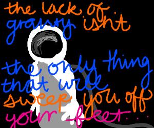 Astronaut pick-up lines