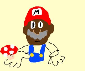 Mario faces his mushroom addiction.