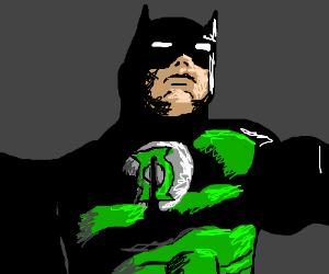 Batman becomes a Green Lantern.