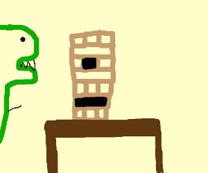 dinosaurs jenga