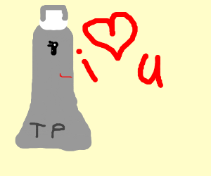 Toothpaste will always love you
