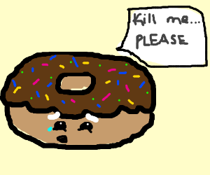 Donut wishes for sweet release