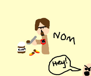 Hitler steals ALL the Nutella