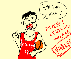 Yao Ming attempt