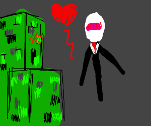 Enderman and Creeper have a romance!
