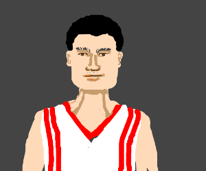 Basketball player Yao Ming