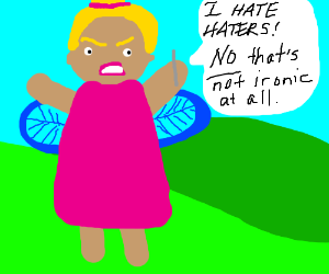 Fairytale town's habitant rants about haters