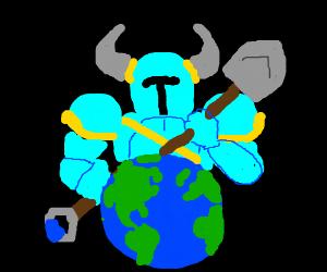 Shovel Knight vs. The World