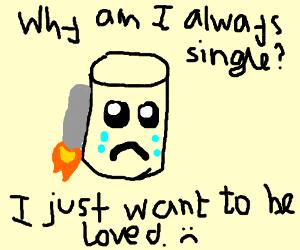 Jetpack Barrel is single, and sad.