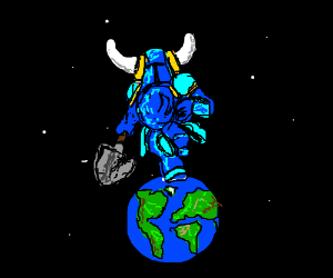 Shovel Knight takes over the world