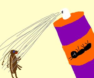 Ineffective bug repellant.