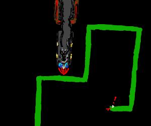 The Drawception train has hit snake!