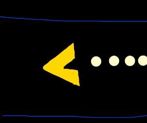 Triangular pac-man