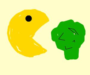 Pac Man vegetarian blitz