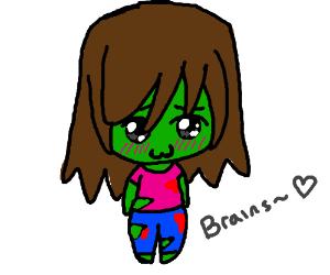 Kawaii Zombie Drawception
