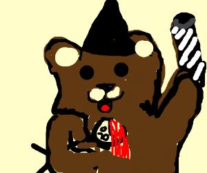 Pedo bear witch kidnapps children