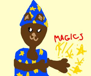 Bearwizard casts spell.