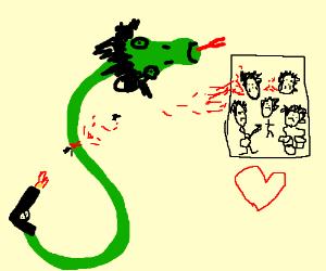 Snake loves BVB. & is suicidal