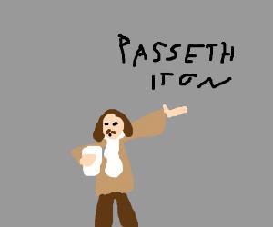 Shakespearean take on 'Pass It On' games