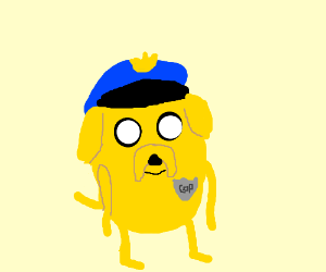 Jake the (Dog) Cop