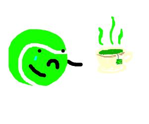 Tennis is sad without tea