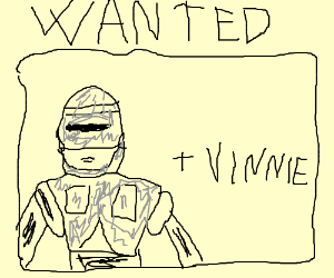 Robocop and Vinnie are wanted men