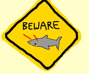 Laser sharks! Beware!