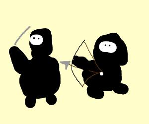 Chubby ninjas attack !