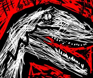 abstract velociraptor