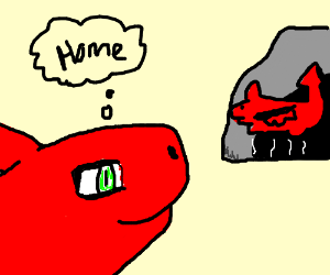 dragon makes it home