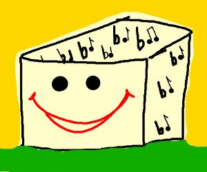 Happy block of flats