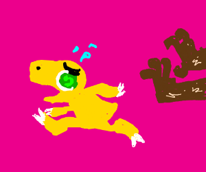 Agumon meets Furry.