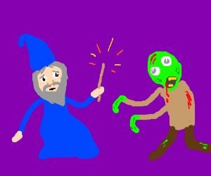wizards vs zomibes