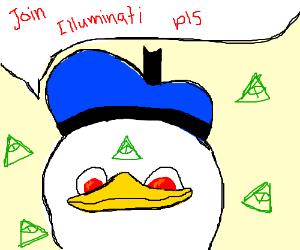 Dolan wants you to join the illuminati